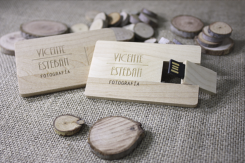 Pendrive Wood Card