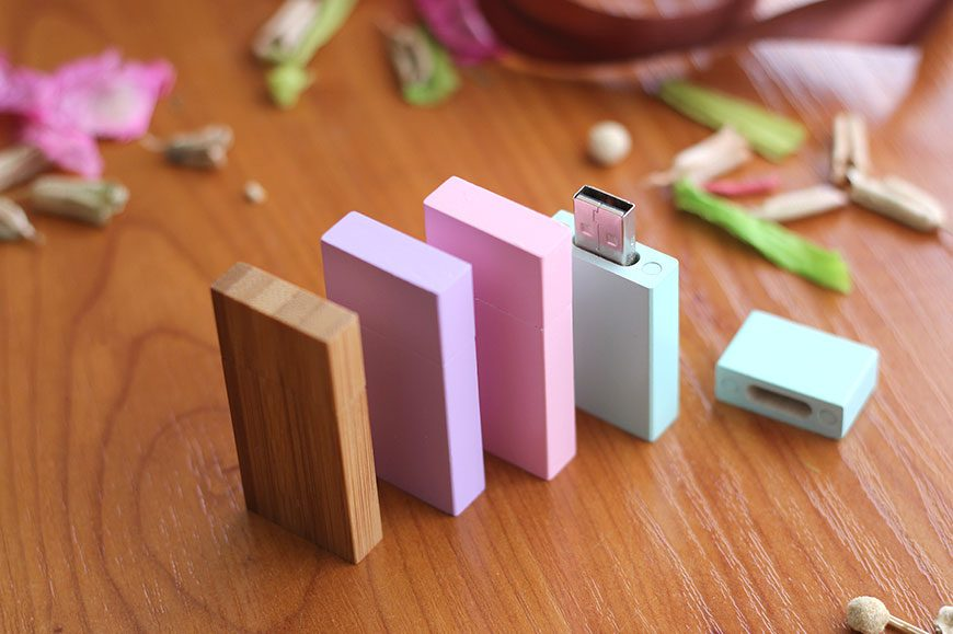 Pendrive Bamboo Colors