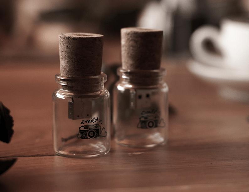 Pendrive botella